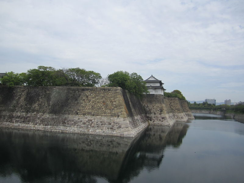 Architecture Built Structure Day Japan Moat No People OSAKA Outdoors Reflection Shrine Sky Temple Water Waterfront