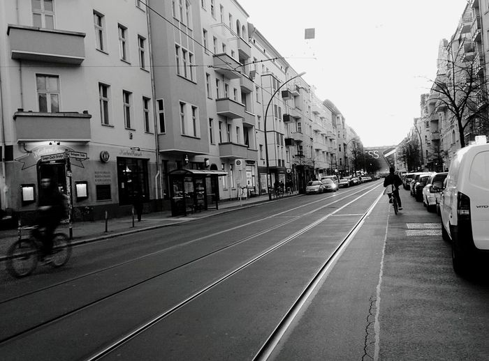Day 277 - Tram lines Berlin Blackandwhite Streetphotography Streetphoto_bw Lines 365project 365florianmski Day277