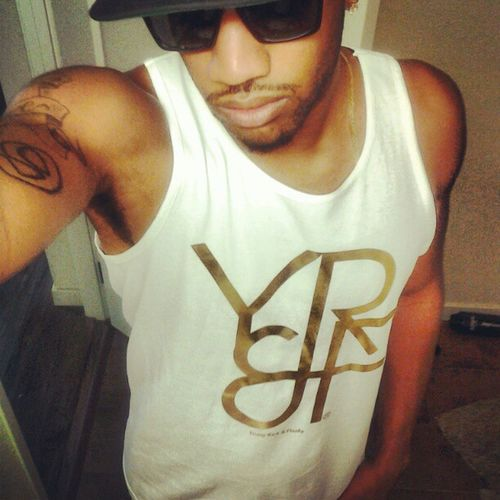 Young Rich & Flashy™ Gold Edition Summer Tank. On sale for $20 email me if you want gear. YRF619@HOTMAIL.COM Youngrichandflashy