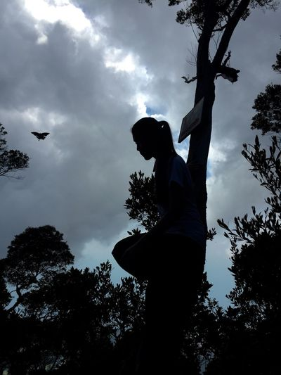 Adrenaline Junkie Top of the Gunung Santubong. Mountain Climbing 3060m Success With Butterfly