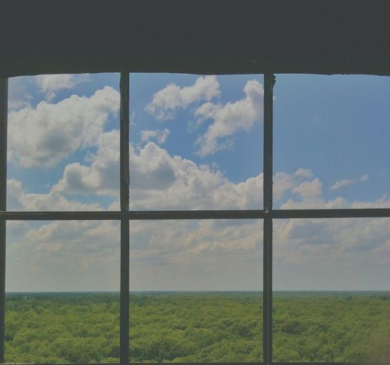 Atop the fire tower... Landscape Eye4photography
