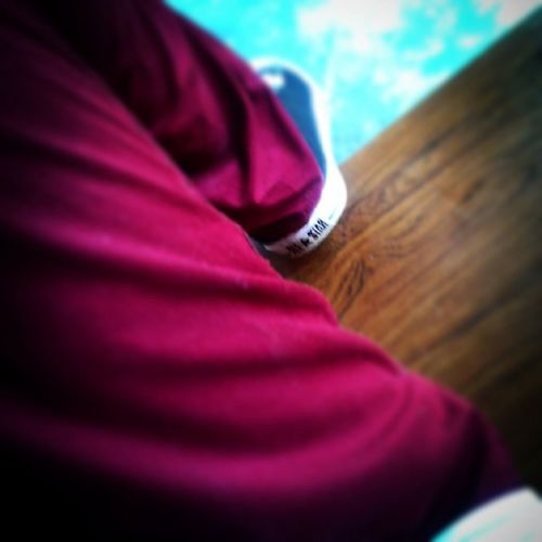 Just Chilling Passive Converse All Star Maroon Black And White BeCause_i_felt_like Instalike Instapic