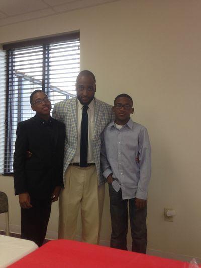 Praising Jesus will my boys Jesus