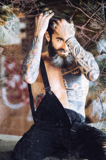 Baby Barba Beard Beautiful Beauty Brown Hair Brown Hair 👌 Brown Highlights ..! Brown Hipster Hipster Hipster Style Hipterlove Italian Italy Long Hair Man Tatoos Are Addicting ;) Tattoo Tattoo Art