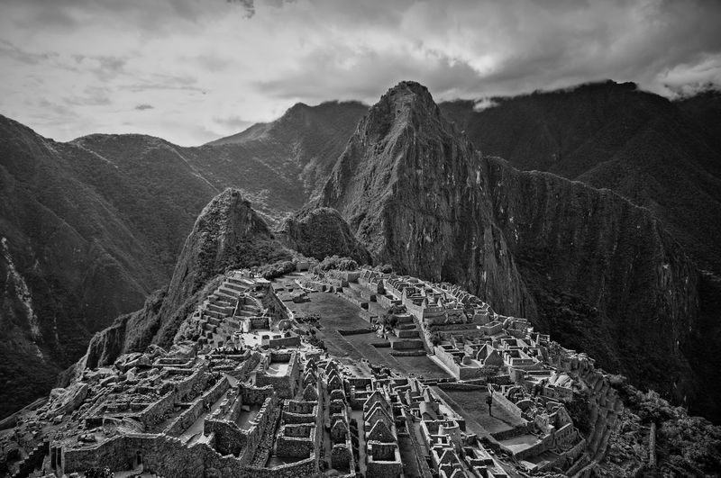 Machu Picchu | Perú Machu Picchu Peru Inka Black & White Blackandwhite Photography Black And White Photography