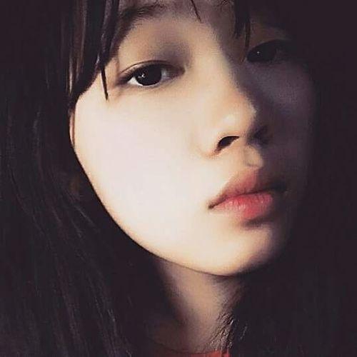 First Eyeem Photo Eyes Never Lie Lips Of An Angel  Sadeyes Blackhair Face Of EyeEm