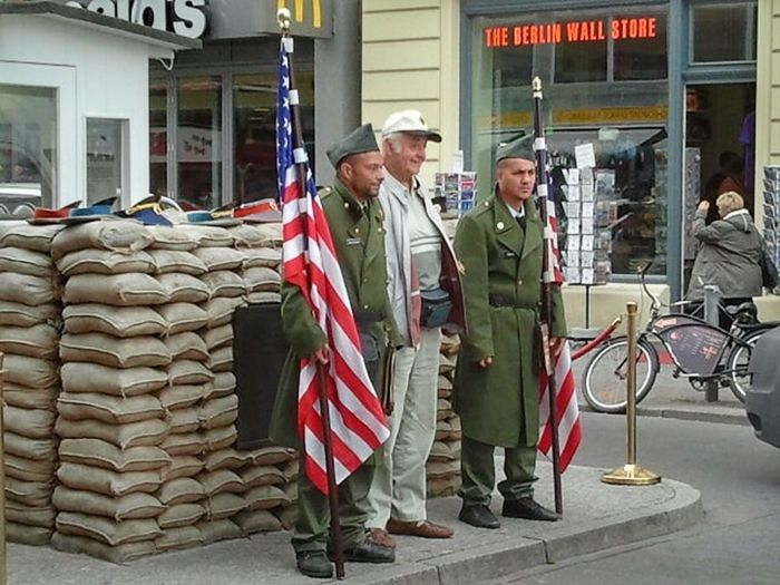 Checkpointcharlie East And West  Historic Germany Check This Out Cityexplore Citytrip