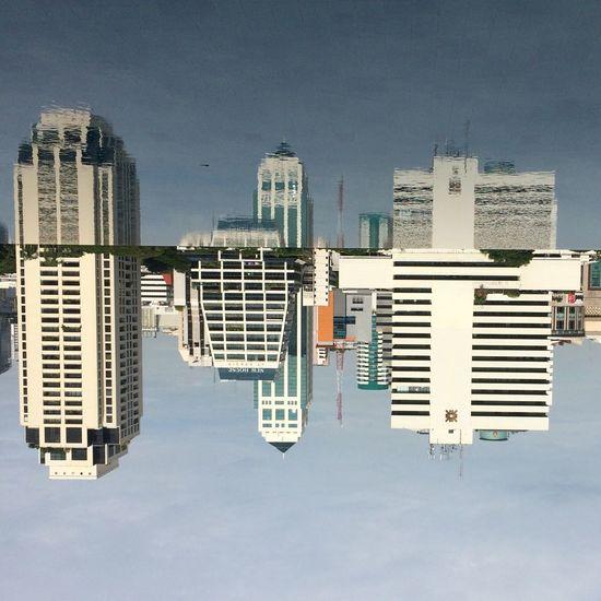 Reflaction Tower Town TOWNSCAPE Bkk Thailand Bangkok Thailand