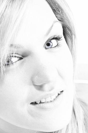 woman portrait Young Women Portrait White Background Beautiful Woman Human Face Looking At Camera Headshot Women Close-up