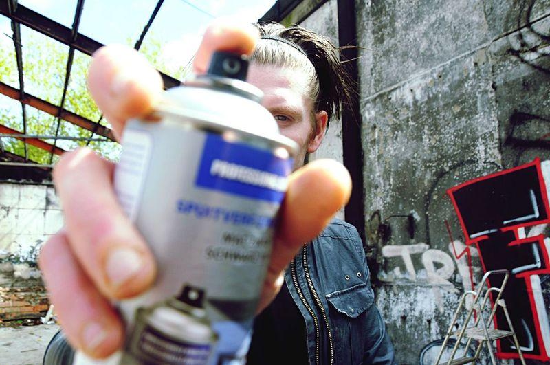 Selfportrait That's Me Undergroundphotography Streetart Urbanphotography Graffiti Art Street Art Statement Urban Exploration Doel Belgium Funday Up Close Street Photography EyeEm Best Shots #FREIHEITBERLIN Creative Space The Photojournalist - 2018 EyeEm Awards EyeEmNewHere