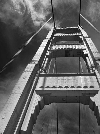The Architect - 2014 EyeEm Awards Golden Gate Bridge California Black And White