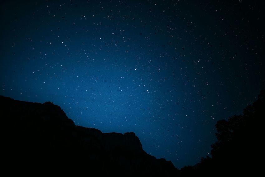 China Photos Night Lights Night View Midnight Blue Midnight Blue Starry Sky Starry Night Look For Starry Big Dipper Stars Darkness And Light Summer Night Feel The Journey Silhouette Moody Sky Urban Nature Taking Photos Landscapes Mountains Showcase June Streamzoofamily The Secret Spaces