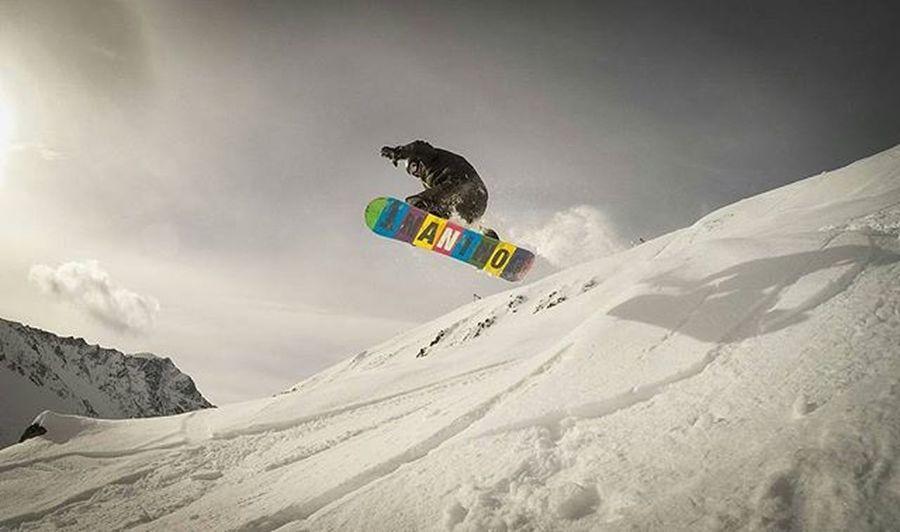 Snowboarding Freeride Snowboard Pitztal