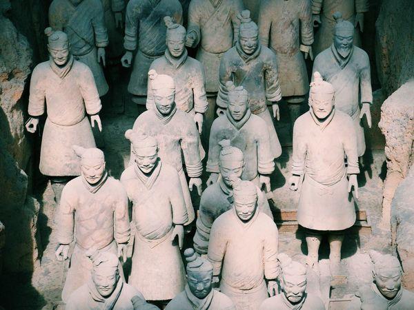 China China .Xian Terracotta Warriors