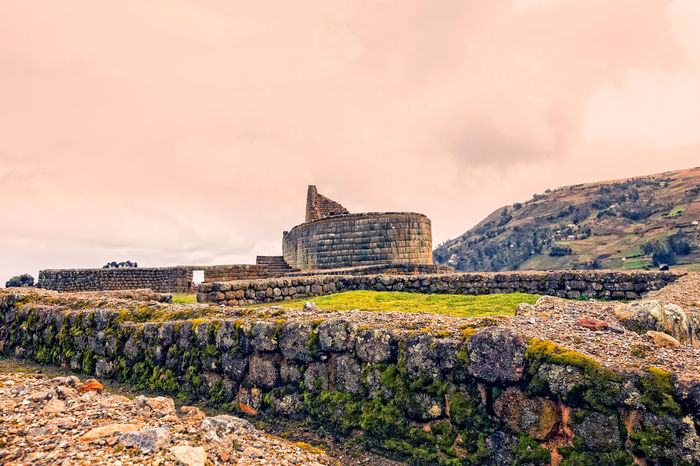 Ancient Ancient Civilization Architecture Building Exterior Built Structure Cloud - Sky Day Ecuador Goddess History History Through The Lens  Inca Indigenous  Ingapirca Maya Mountain Nature No People Old Buildings Old Ruin Outdoors Sky Sky And Clouds South America Travel Destinations