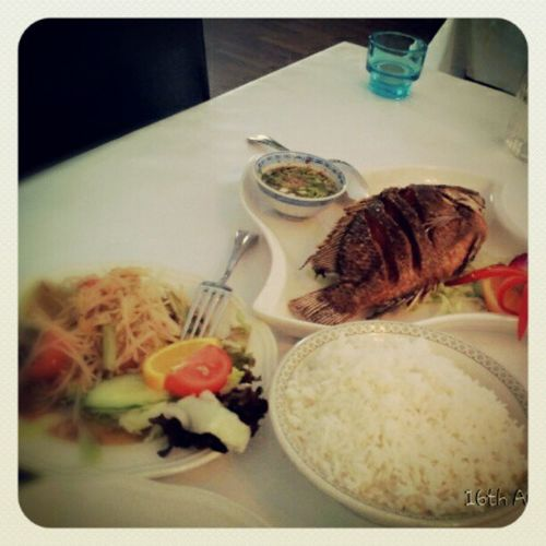 Our hot and spicy lunch :-) @sweet_fern Thai Hot Spicy Food