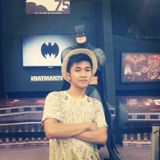 With my sidekick. Batman75