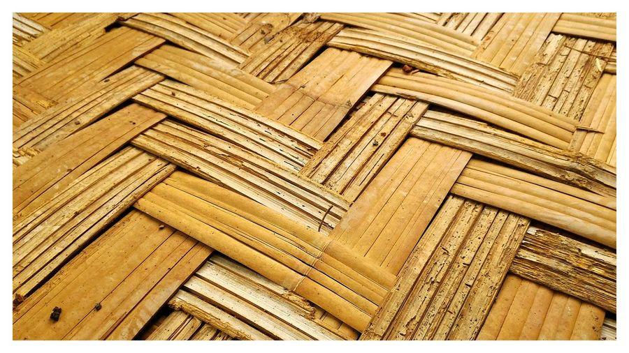 Architecture Backgrounds Bamboo Bamboo Texture Close-up Day Full Frame Indoors  No People Pattern Textured  Wood - Material Wood Paneling Yellow