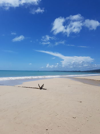 Beach Beachphotography Beach Life Sand Driftwood Sea Blue Sky Sunshine Summer Thailand Thaibeach