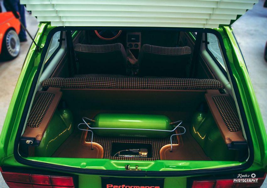 Volkswagen Rabbit Clean Green Inbags Airlift Kendosphotography