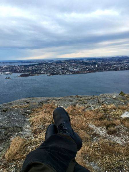 Landscape Mountain Top Perspective IPhoneography Photography Exploring The Unknown Time To Reflect Norway Nature Ocean