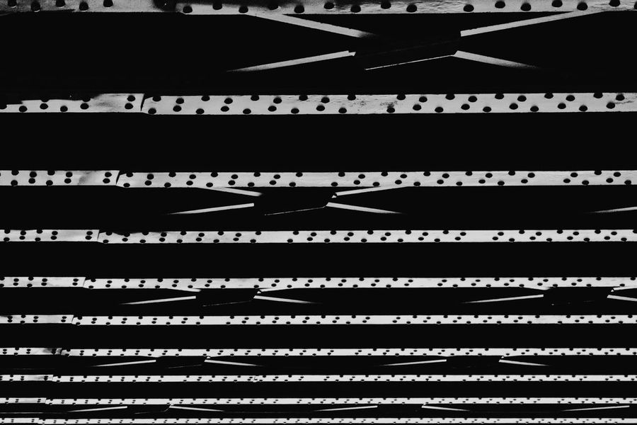 steel rail bridge Abstract Arts Culture And Entertainment Black And White Black And White Photography Bridge Day Engineering Industrial Photography Monochrome Monochrome Photography No People Rail Rail Bridge Rail Photography Rail Transportation Repetition Steel Steel Bridge Steel Construction Steel Structure  Urban Photography Vertical Beautifully Organized The Architect - 2018 EyeEm Awards The Street Photographer - 2018 EyeEm Awards