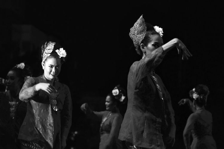 DANGKONG Traditional Dance Classic Style Classic Elegance Traditional Culture Blackandwhite Black And White BW_photography Bwphotography Bw_lover Blackandwhitephotography Black And White Collection  Bw Bw_collection Bws_worldwide Bw Photography Bw_ Collection BW Collection Bw_photooftheday Bw_society Bw_portraits Bwoftheday Dancing Around The World Culture Cultures Culture And Tradition Cultural Heritage Culture Of Indonesia Black Background Friendship Arts Culture And Entertainment Party - Social Event Young Women Performance Celebration Togetherness Fun Dancing Traditional Dancing Festival Dancer Carnival Entertainment Occupation Stage - Performance Space