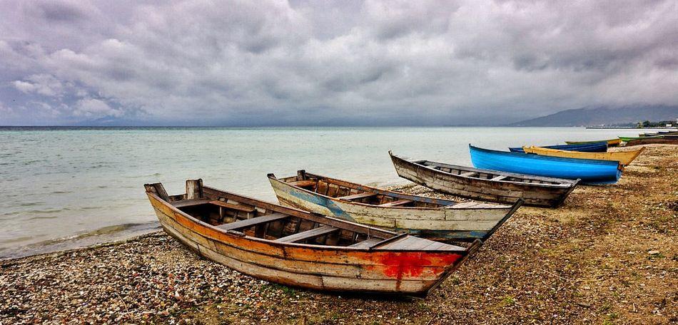 Albania Boat Ohrid Lake Lake