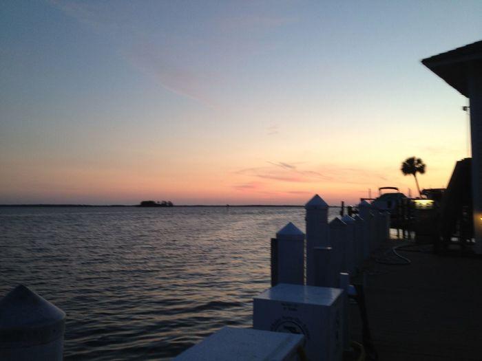 Sunsetset] Water Harbor