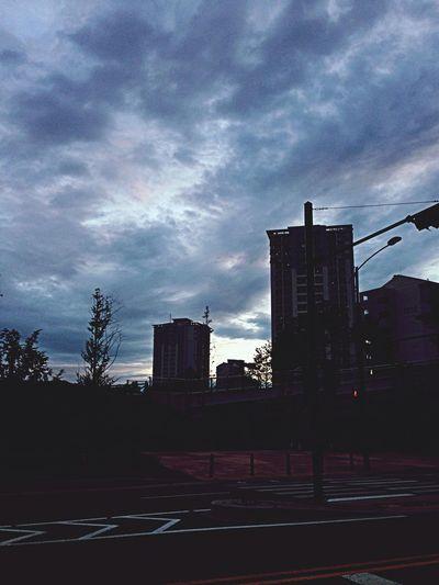 출근길. 집근처. GoToWork Good Morning Bus Station