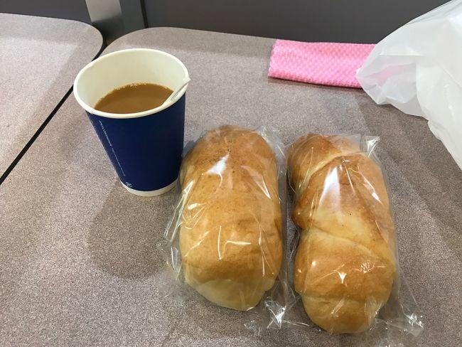 塩パンとブレンドコーヒー