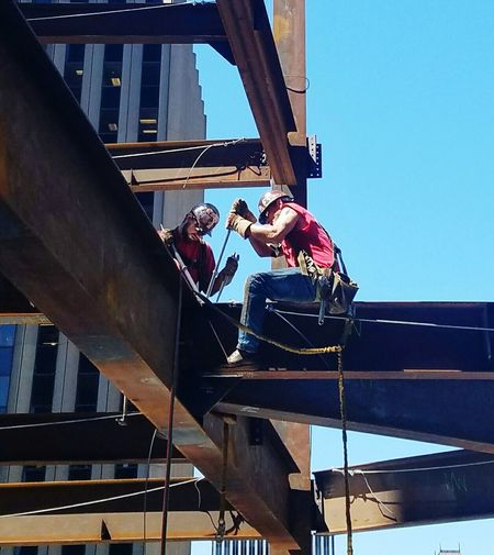 How Do We Build The World? How We Build The World? How We Build The World Ironwork  Ironworkers
