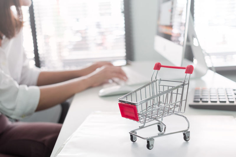 shopping online Adult Business Buying Consumerism Customer  Furniture Hand Human Body Part Human Hand Indoors  One Person Online  Online Messaging Online Shopping  Onlineshop Onlineshopping Retail  Shopping Shopping Cart Side View Sitting Store Technology Typing Women