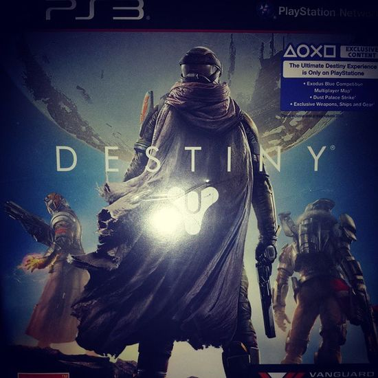 Got Destiny!!! Destiny Bungie Activision Ps3