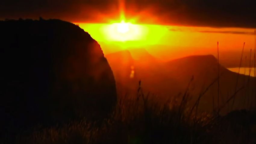 sunrice Mountain Sun Sunset Sunlight Sunrise Sunset_collection Mauntains In The Background Panorama View Sunset Sun Landscape Sky
