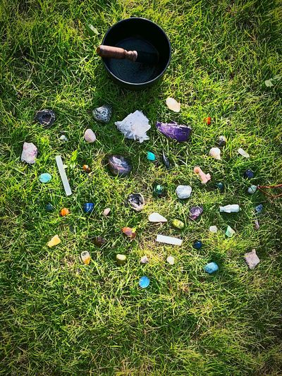 Crystals aren't just pretty, but they have healing properties as well. It was something I've always loved as a child because they sparkled in a special way. I didn't quite understand it at the time, but now, I get it. They wanted to feel the Sun, Mother Earth, the infinite beauty that surrounds us. Positive vibrations and grounding. They wanted to hear my bowl and hear how much they are loved. Today, my beauties, I hope you felt it and heard it. Thank you for all your hard work. You are each appreciated. #crystals #motherearth #healingproperties #sundayfunday #ihearyou #grateful #beauties #thankyou #wisdom #singingbowlhealing #icanfeelyou Earth Wisdom IHearYou Healing Properties Crystals Plant Day No People Land
