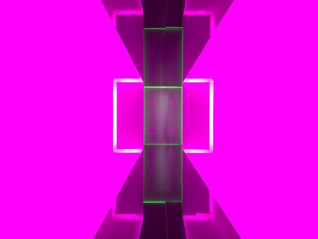 The walkway At MONA gallery Pink Color Purple Indoors  Multi Colored Studio Shot Colored Background No People Illuminated Neon Colored Lifestyles
