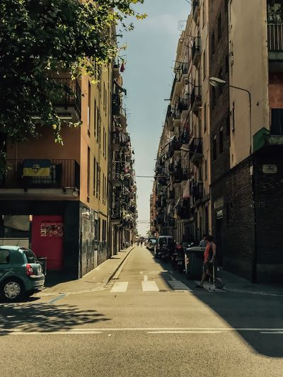 Streets of barcelona (harbor neighbourhood) Streetsofbarcelona Streets Of Barcelona Barcelona Streetview Streetviewphotography Clothesline Balcony Balcony Shot Colours Traveler Traveler Walking Citytrip