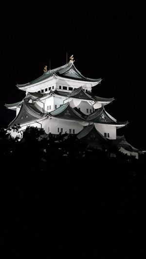 Japan Palace Night Time Night Arts Culture And Entertainment Roof No People Royalty Outdoors Cityscape
