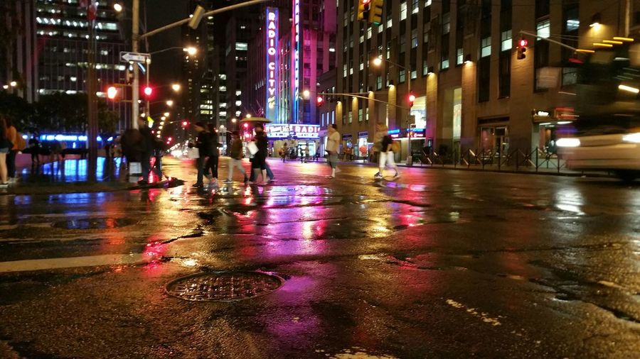 Radio city. EyeEm Best Shots Nightphotography NYC Photography Rockafellar Center Streetsofnewyork
