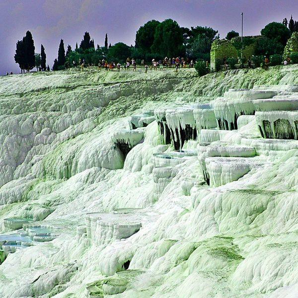 Pamukkale/Turkey Pamukkale Travertenleri Denizli Nature Photography Tourism Hierapolis Summer Holidays WhiteCollection Tourismobject Turkeyphotooftheday