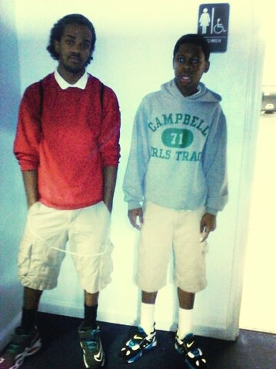 Me Nd My Boii Zeb Trippin Its Was A Off Graud Picture But We Still Thuggin