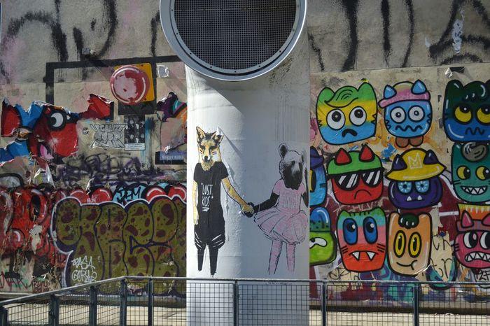 Paris Fox Bear Graffiti Tutu Last Summer Lost Kids