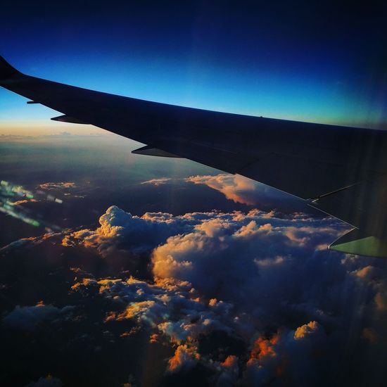 Sky Cloud - Sky TravelShot Picture Photos Travel Photography Travels Outdoors Flight Airplaneview Airplane Shot Sunset #sun #clouds #skylovers #sky #nature #beautifulinnature #naturalbeauty Dreamy TavelTheWorld Traveling EyeEmNewHere Scenics Pic Pictureoftheday Photo Of The Day Photograph Picoftheday Beauty In Nature No People