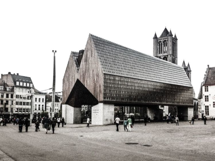 Vibrant mix of Contemporary Architecture and History in Ghent City Center | Belgium EyeEm Ghent Urban Geometry Architecture