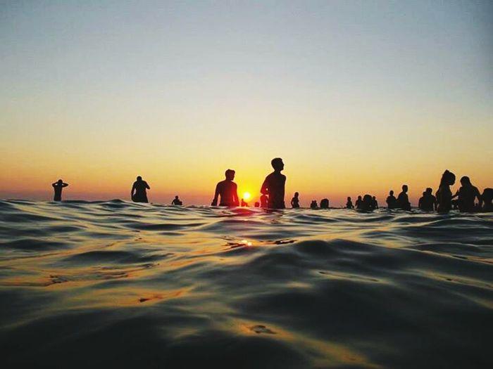 The EyeEm Facebook Cover Challenge Sea And Skyl Enjoying The Sunset