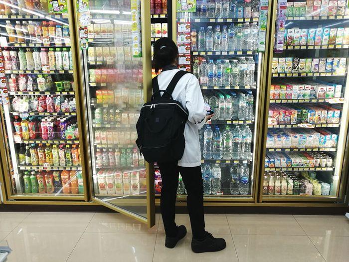 Supermarket Full Length Men City Standing Store Retail  Choice