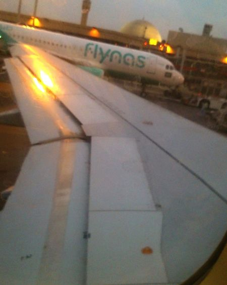 First Eyeem Photo Check This Out Taking Photos traveling home on flynas