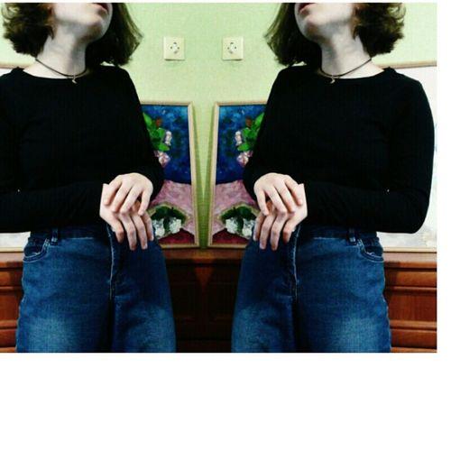 я Я русалка волосы скучно дома джинсы руки картины ээээх старое