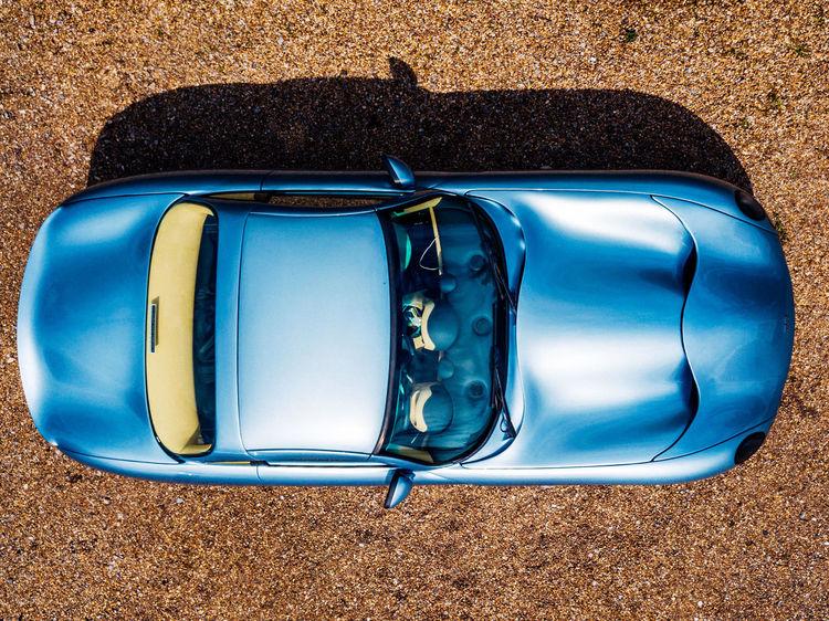 Motor Above Arielphotography Auto Birds Eye View Blue Car Supercar Transportation Tvr
